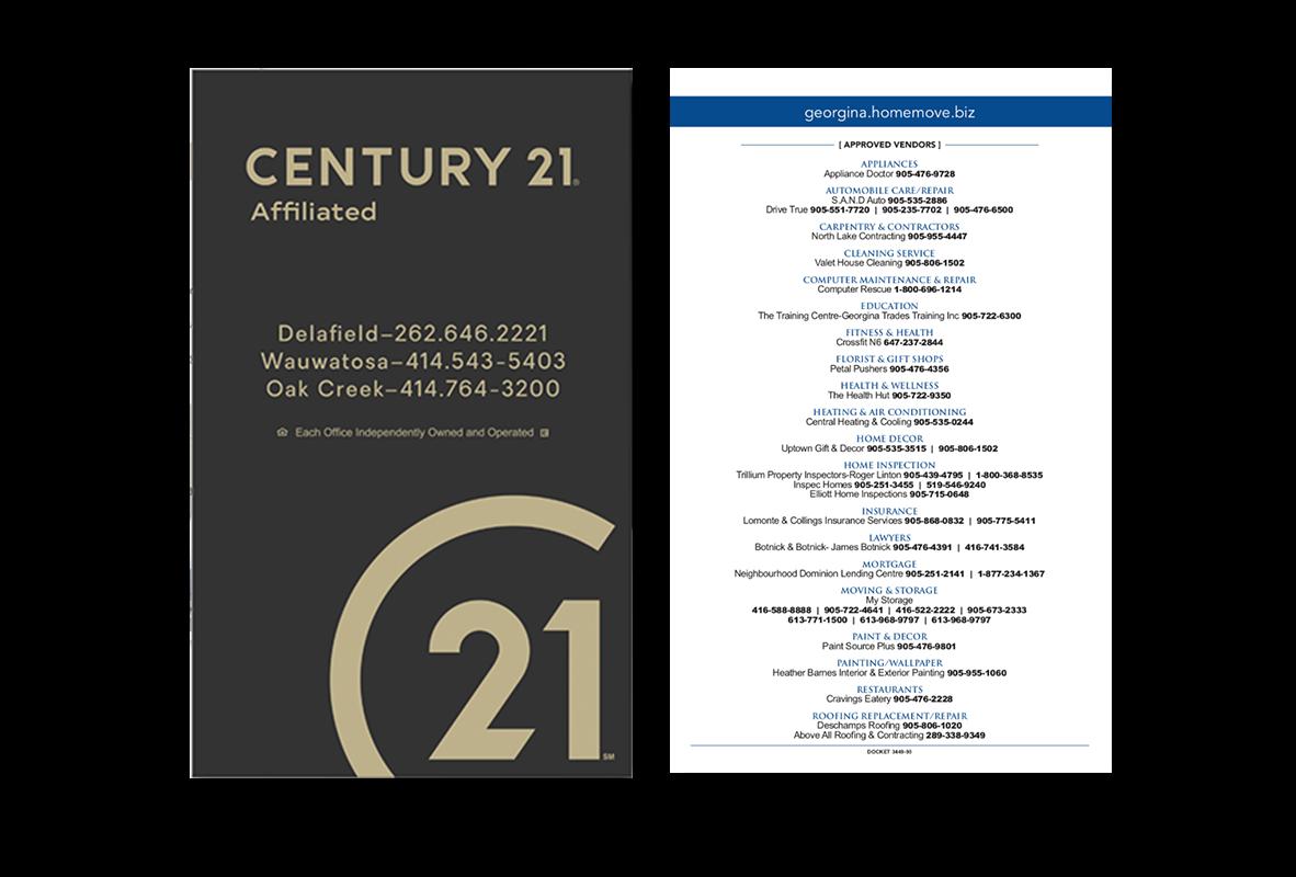 Century 21 Postcard