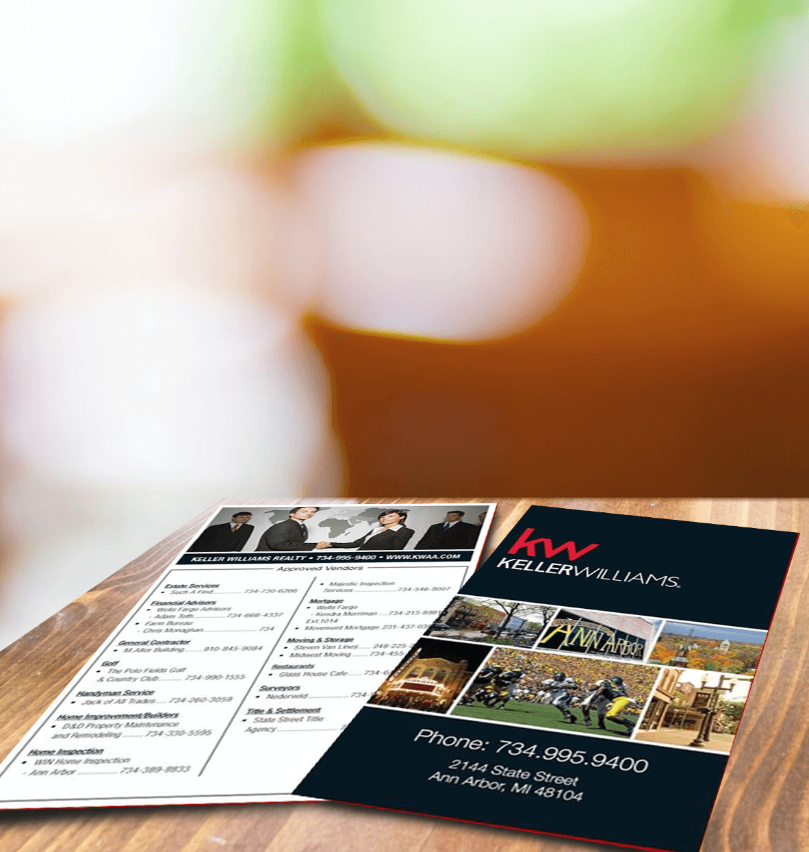 Keller Williams Realty Postcard
