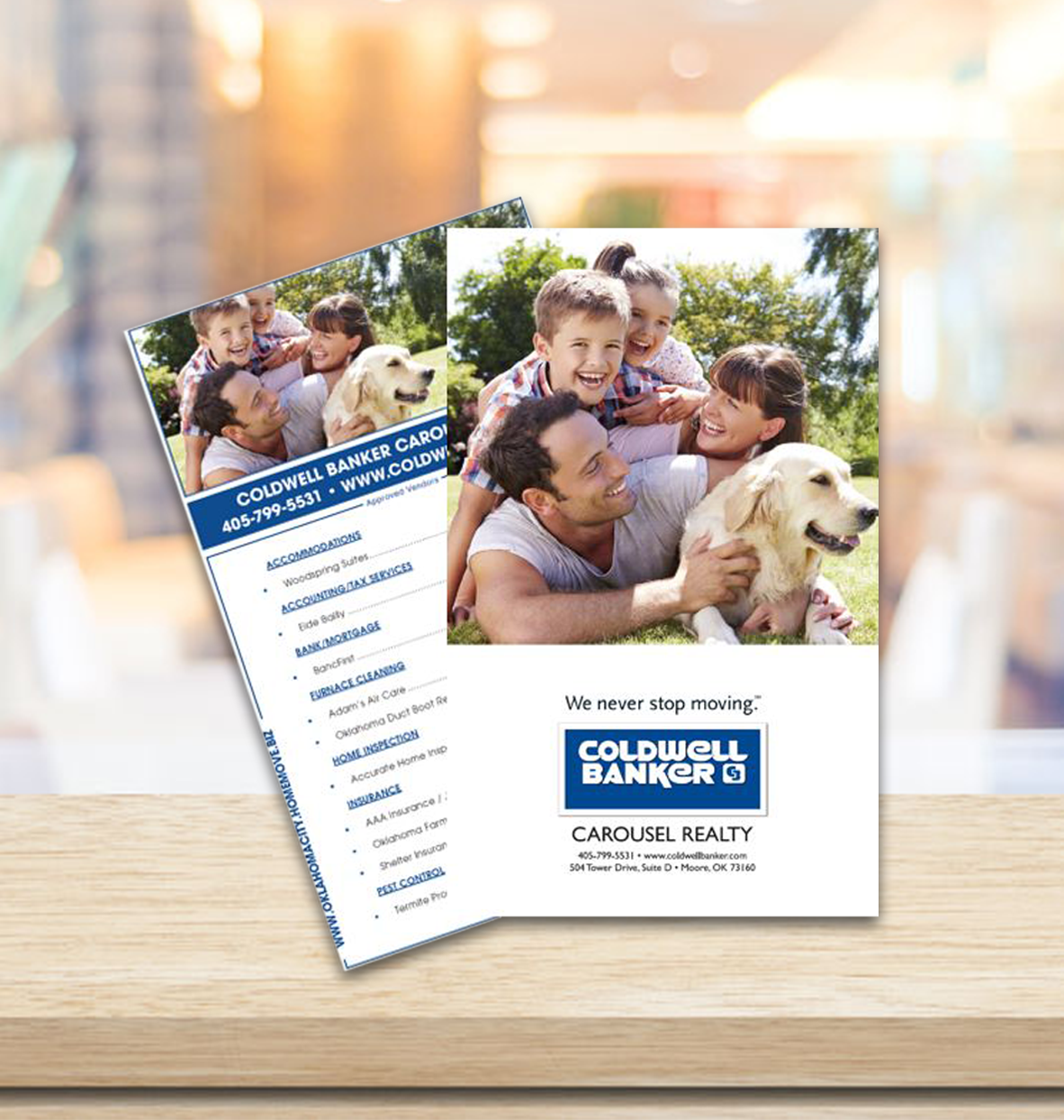 Coldwell Banker Postcard